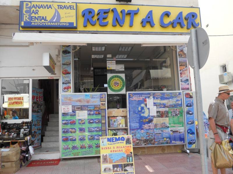 Panavia Car rental & Travel agency