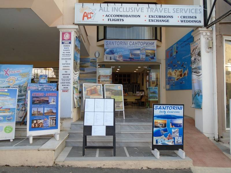 All inclusive travel services