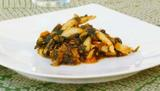 Cuttlefish with spinach
