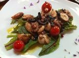 Octopus with black bryony